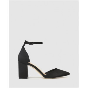 Womens Lucy Point Toe Pumps Betts Black Micro for sale near me PCVZCFE