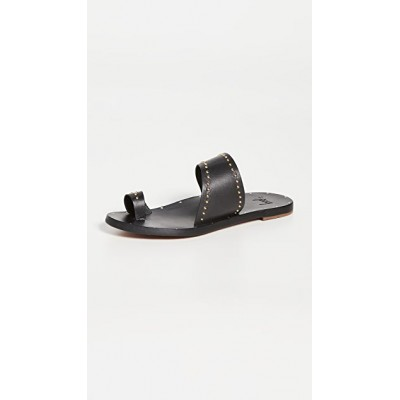 beek Young Ladies Finch Studs Sandals Black/Black on style DJYJ845