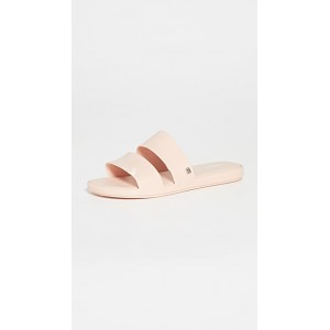 Melissa Young Ladies Color Pop Slides Pink Latest Fashion NSHF752