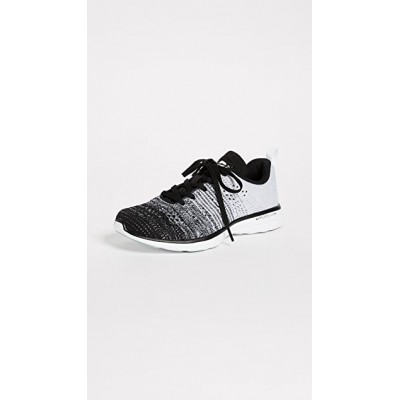 APL: Athletic Propulsion Labs Women's TechLoom Pro Sneakers Black/Heather Grey/White in style YJBZ446