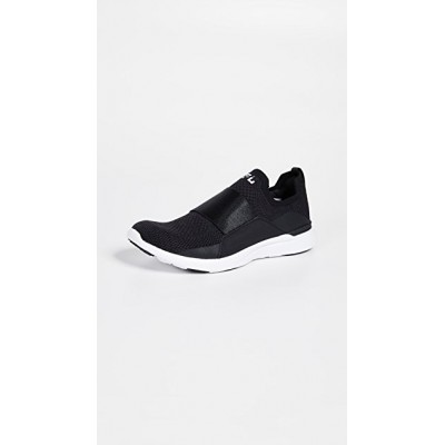 APL: Athletic Propulsion Labs Young Ladies TechLoom Bliss Sneakers Black/Black/White Comfort ORYY821