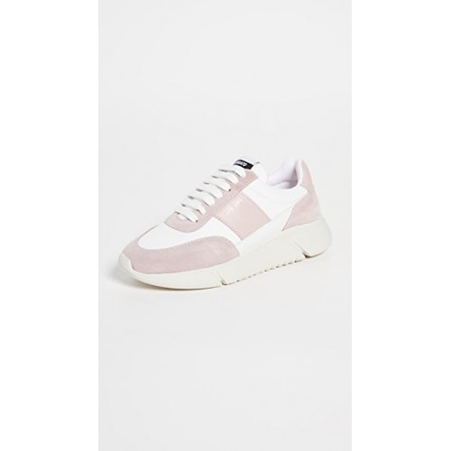 Axel Arigato Womens Genesis Vintage Runner Sneakers White/Dusty Pink The Most Popular FIPN823