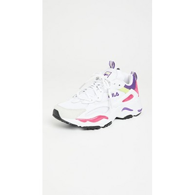 Fila Women Ray Tracer Sneakers White/Magenta/Electric Purple guide CTSP172