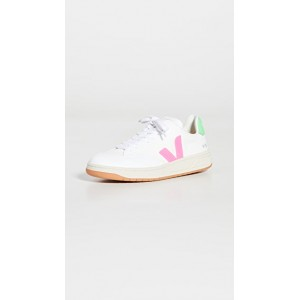 Veja Women's V-12 Sneakers White/Sari/Absinthe Selling Well JEEQ995