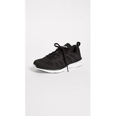 APL: Athletic Propulsion Labs Women's TechLoom Pro Sneakers Black/White/Black outfits EDSR877