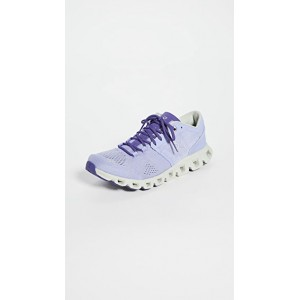 On Young Women's Cloud X Sneakers Lavender/Ice KHRI725