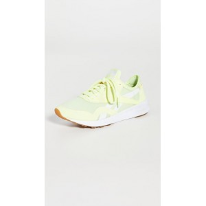 Reebok Young Women's Classic Nylon Sneakers Energy Glow/Yellow Flare/White The Most Popular BYQF676