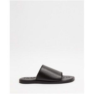 Women's Off Duty 2.0 JAMES | SMITH Black Leather Fitted LYBZCDH