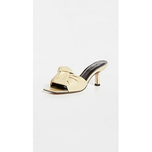 BY FAR Womens Lana Sandals Yellow stores NJPD898