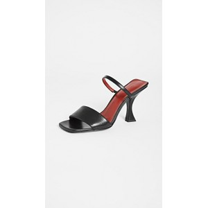 BY FAR Girl's Nayla Sandals Black Boutique GISH608