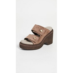 Rag & Bone Young Women's Sommer Wedge Sandals Tundra Brown Express TINE782