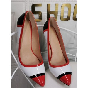 Plus Size High Heels For Women Pointed Toe Stiletto Heel Fashion White Sexy High Heels In Sale #23600939176