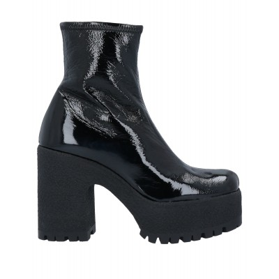 Women Combat Boots e fashion business casual - Women Ankle boots Soft Leather NSMHV4306