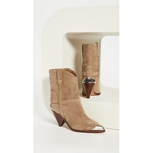 Isabel Marant Women's Limza Boots Taupe OMHT619
