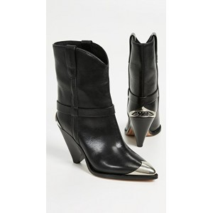 Isabel Marant Young Women's Lamsy Boots Black TOMM950