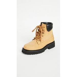 Moschino Young Women's W. Ankle Hiking Boots Cammello Popular RPHD275