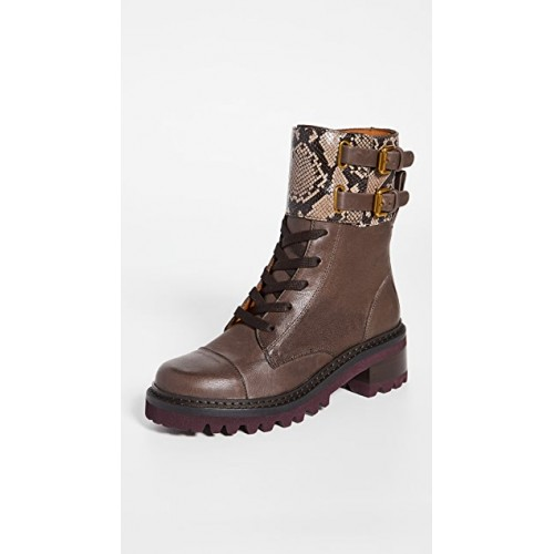 See by Chloe Women's Mallory Boots Brown OPOO280