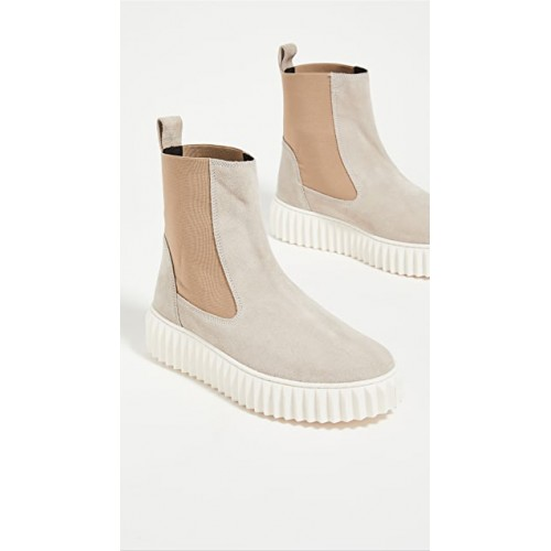 Voile Blanche Young Women's Beth Chelsea Boots Ivory Business Casual UEYU848