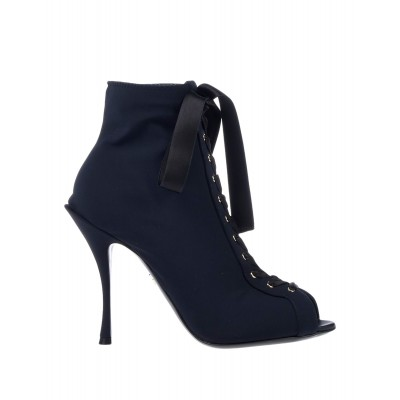Women Low Heels And Flat Ankle Boots 2021 Trends Designer - Women Ankle boots Textile fibers VAGNJ4193