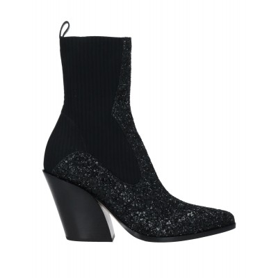 Women Low Heels And Flat Ankle Boots 2021 Trends New Season - Women Ankle boots Textile fibers 3FHBR5864