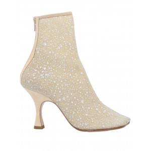 Women Low Heels And Flat Ankle Boots on clearance comfortable - Women Ankle boots Textile fibers, Soft Leather QDSNI8883