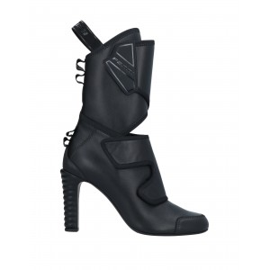 Women Low Heels And Flat Ankle Boots on style quality - Women Ankle boots Soft Leather, Textile fibers H660E6898