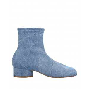 Women Wedge Ankle Boots on sale online lifestyle - Women Ankle boots Textile fibers, Soft Leather Y0BM84914