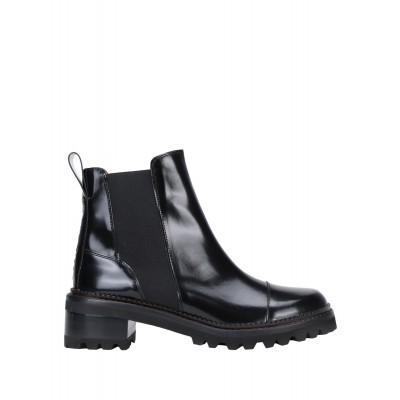 Women Mid Heels Chelsea Boots Cut Off the best - Women Ankle boots Soft Leather R5UAU3212