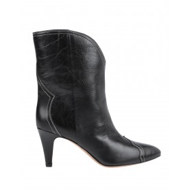 Women Mid Heels Chelsea Boots on style Latest Fashion - Women Ankle boots 100% Calfskin, Bovine leather 010ZF7404