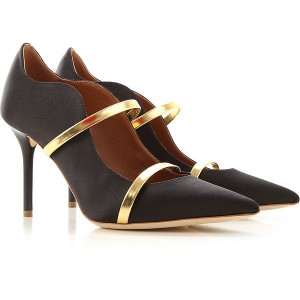 Malone Souliers Women Pumps Black satin Selling Well GKSWI8400