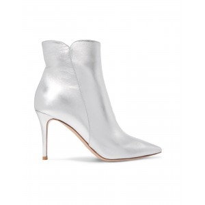 Women High Heels Laced Shoes New Look Design - Women Ankle boots Soft Leather NOLIT2845