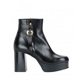 Women High Heels Laced Shoes shopping lifestyle - Women Ankle boots Calfskin DGAN26833