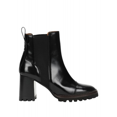 Women Low Heels Laced Shoes 2021 New - Women Ankle boots Soft Leather CHTAU2791