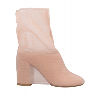 Women Low Heels Laced Shoes in new look New Season - Women Ankle boots Textile fibers, Soft Leather VL7CI5542