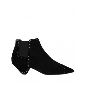 Women Low Heels Laced Shoes On Sale Fashion - Women Ankle boots Soft Leather, Textile fibers WJN7R4605