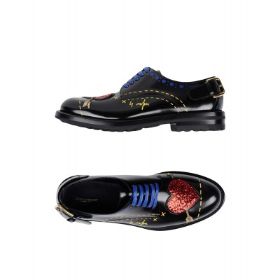 Women Mid Heels Loafers Discount lifestyle - Women Laced shoes 91% Calfskin, 3% Lambskin, 3% Polyester, 2% Polyurethane, 1% Viscose DJS7V9594