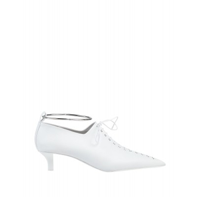 Women Mid Heels Loafers In Sale business casual - Women Laced shoes Soft Leather BFLQX9562