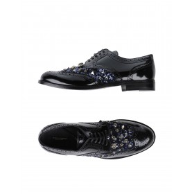 Women Mid Heels Loafers Top Sale New - Women Laced shoes Soft Leather, Textile fibers QIVWC6858