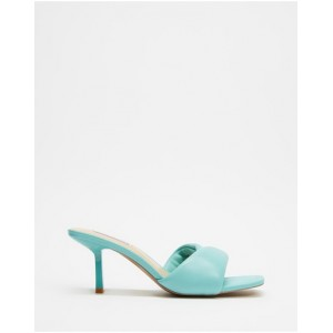 Women Thai Steve Madden Turquoise Leather For Sale QMTCMOR