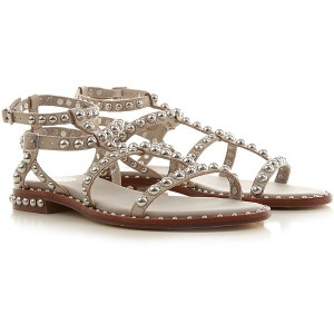 Ash Women Sandals Pearl Rose Leather CYHIG2868