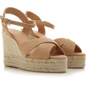 Castaner Women Sandals Tosted Vanilla suede Business Casual CPFHO3703