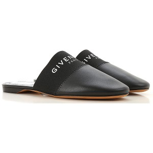 Givenchy Women Sandals Black Leather Selling Well PMFFC9894