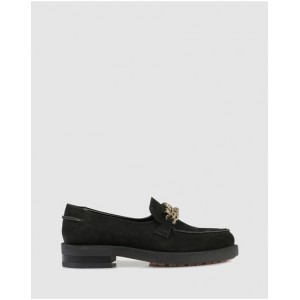 Women Voltaire Loafers Beau Coops Nero ILMPNLN