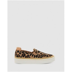 Women's Heart Ravella Leopard Knit Collection RZUTGRY