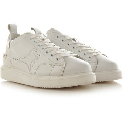 Ama Brand Women Sneakers White Leather Discount YRBUM7864