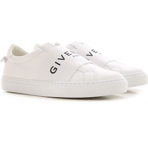 Givenchy Women Sneakers White Leather Cost HJGQM8750
