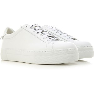 Givenchy Women Sneakers White Leather spring 2021 ZQOQC2096