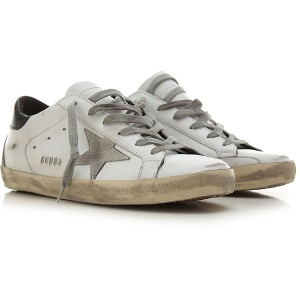 Golden Goose Women Sneakers White Leather Sale QOOEO2910