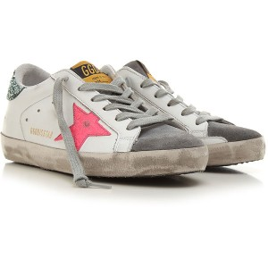 Golden Goose Women Sneakers White Leather YMNST4891