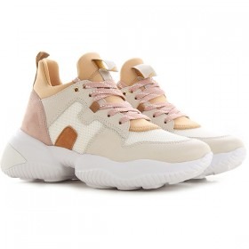 Hogan Women Sneakers White Leather most comfortable YPKNQ4354